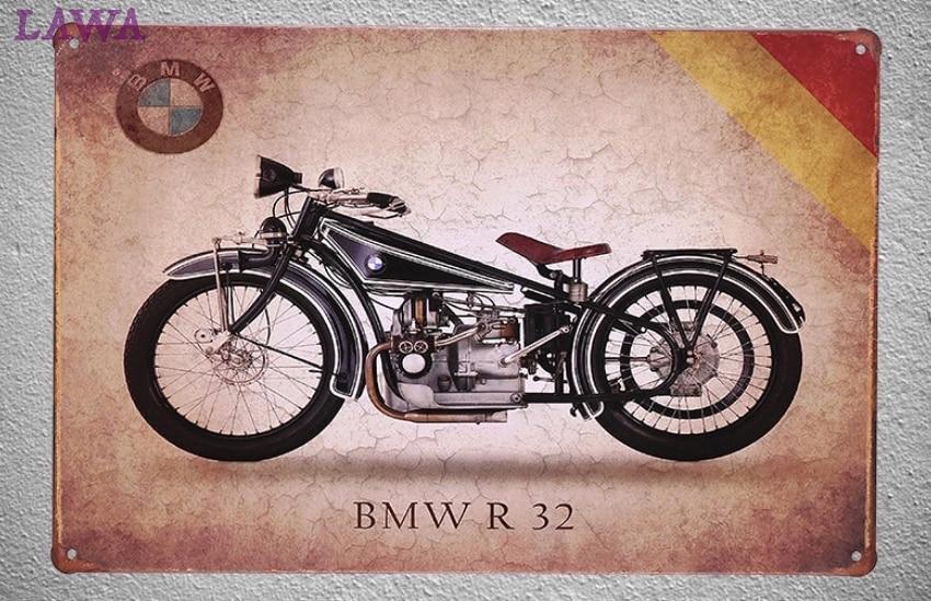 Bmw Motorcycle Tin Signs Custom Vinyl Decals - Bmw motorcycle tin signs