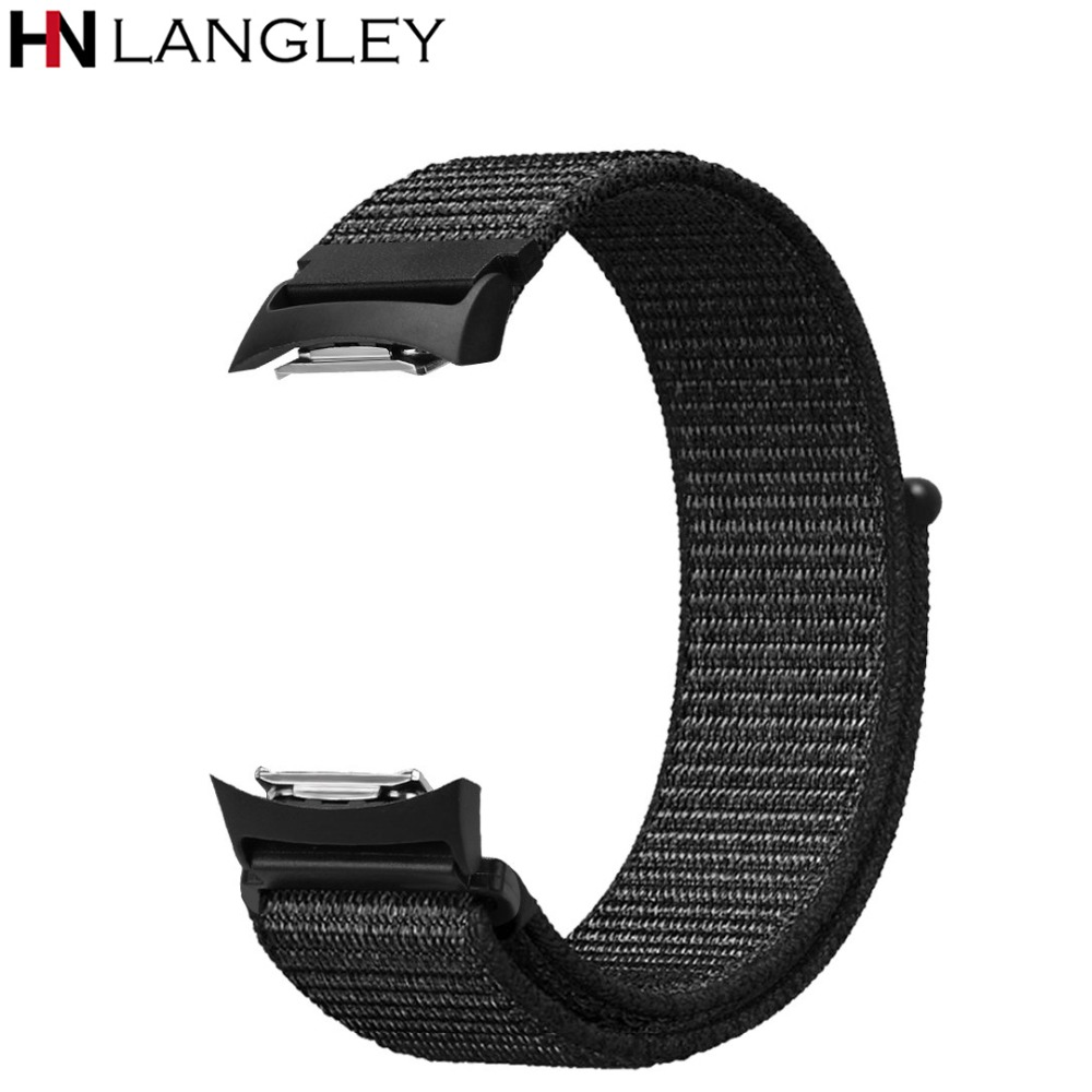 For S2 Band Nylon Sport Loop Replacement Strap Bands Adjustable Closure For Samsung Gear S2 SM-R720 / SM-R730 Smart Watch