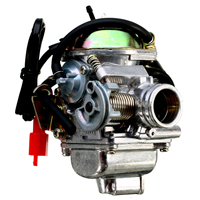 24MM Motorcycle Carburettor Carb 4 Stroke GY6 110/125/150cc Scooter Moped ATV Go Kart For Yamaha Suzuki Kawasaki