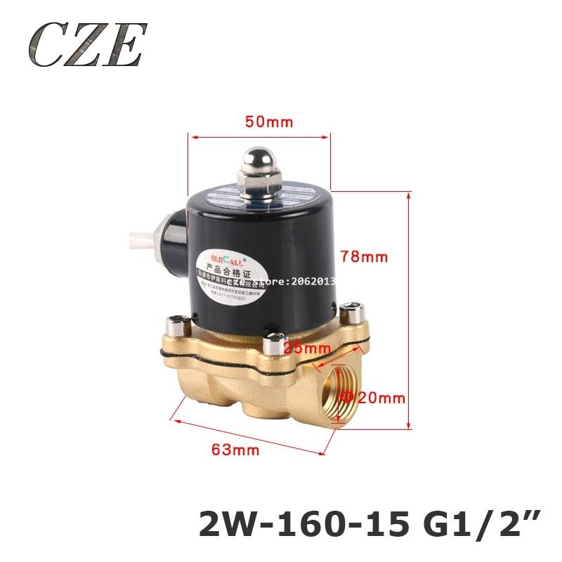 Aliexpress Com   Buy 2w 160 15 G1  2 U0026quot  Copper Water