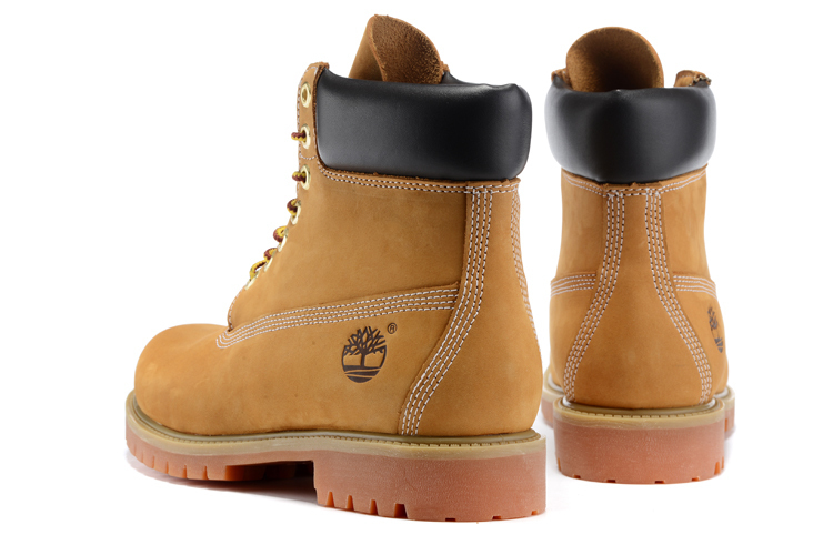 TIMBERLAND Classic Women's 6-Inch Premium Waterproof 10061 Boots,Woman Female Nubuck Genuine Leather Ankle Wheat Yellow Shoes  4