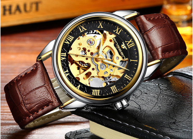 HTB1MLcbmNPI8KJjSspoq6x6MFXa3 - Men Watches Automatic Mechanical Watch Male Tourbillon Clock Gold Fashion Skeleton Watch Top Brand Wristwatch Relogio Masculino