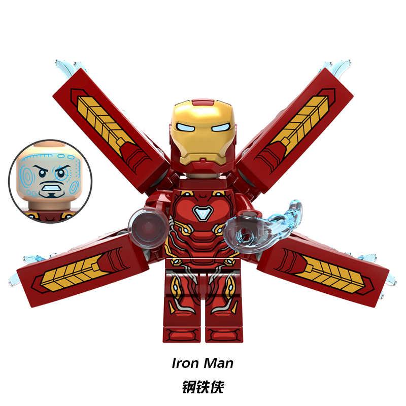dbfb65b4ec3f Супер героев Marvel Мстители 3 фигурки Доктор Стрэндж ЖЕЛЕЗНЫЙ ЧЕЛОВЕК Марк  50 LEGOINGLYS Строительные блоки мини
