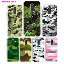 Silicone Phone Case Army camo Camouflage for Samsung Galaxy A8S A6S A9 A8 Star A7 A6 A5 A3 Plus 2018 2017 2016 Cover