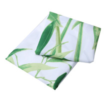 3D Green Bamboo Printed Shower Curtains