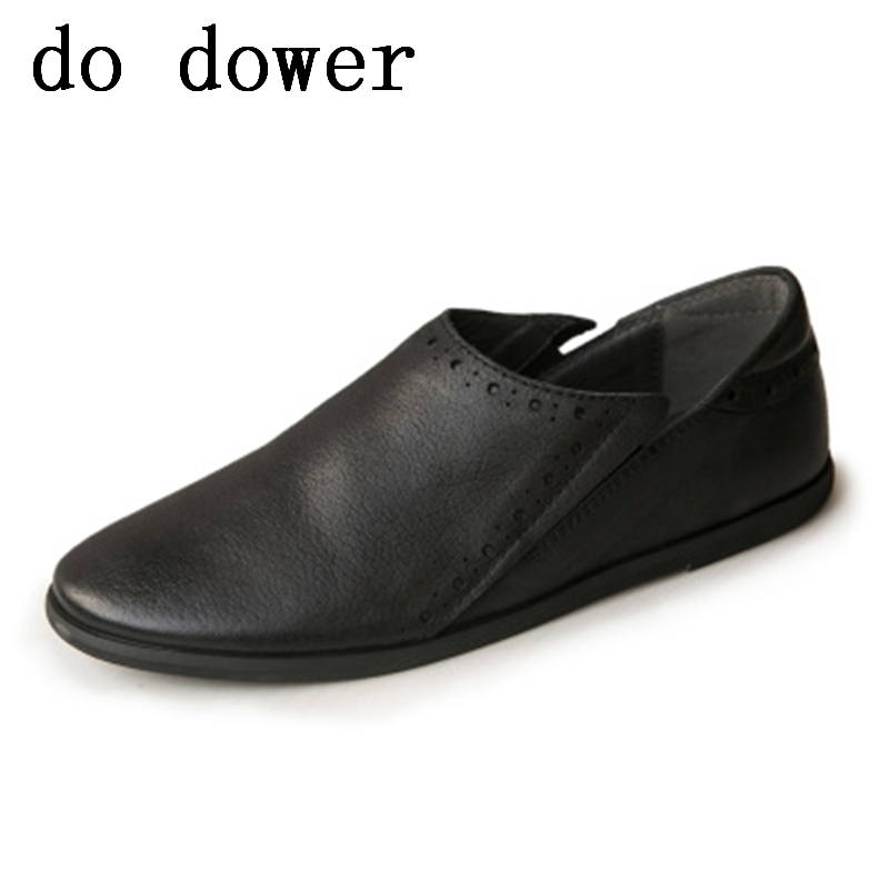 2018 New Men Genuine Leather Luxury Trainers Summer Bussiness Shoes Casual Flats Slip-On Dress Ratro Old Loafers Shoes цена 2017
