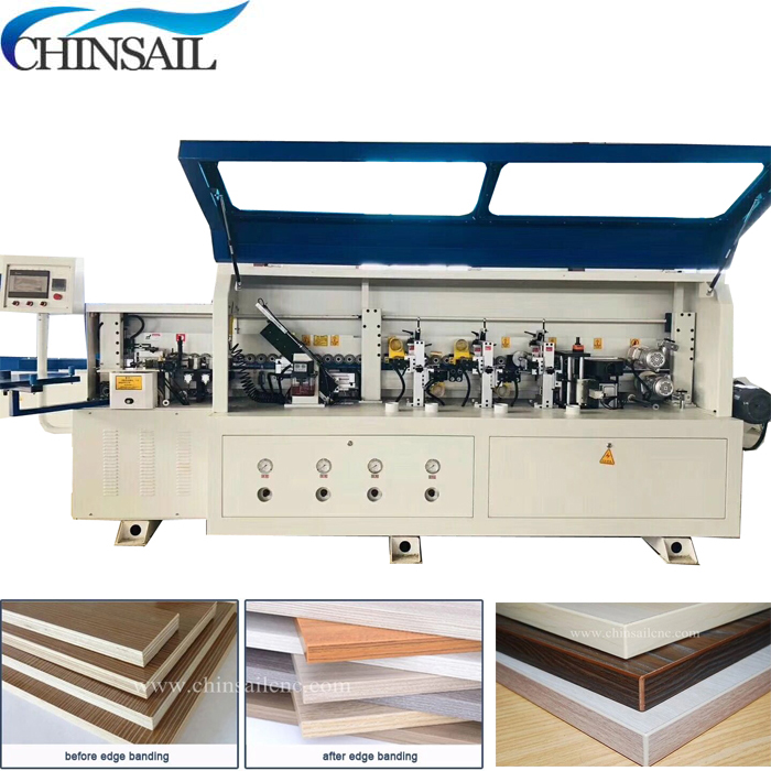Fast Delivery Automatic PVC Edge Banding Machine For