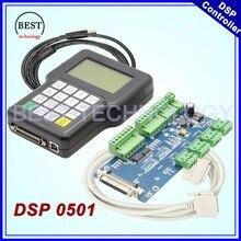 Envío Libre!! DSP 0501 controlador de 3 ejes Versión Inglés DSP0501 mango controlador remoto de 3 ejes CNC router