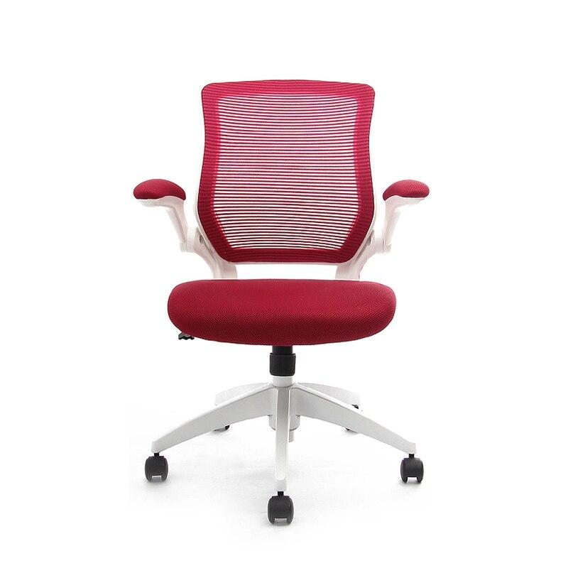executive ergonomic mesh office chair flip up armrest molded seat