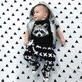 Baby girl set carters baby girl summer bebe ropa ropa de bebé recién nacido estilo del muchacho
