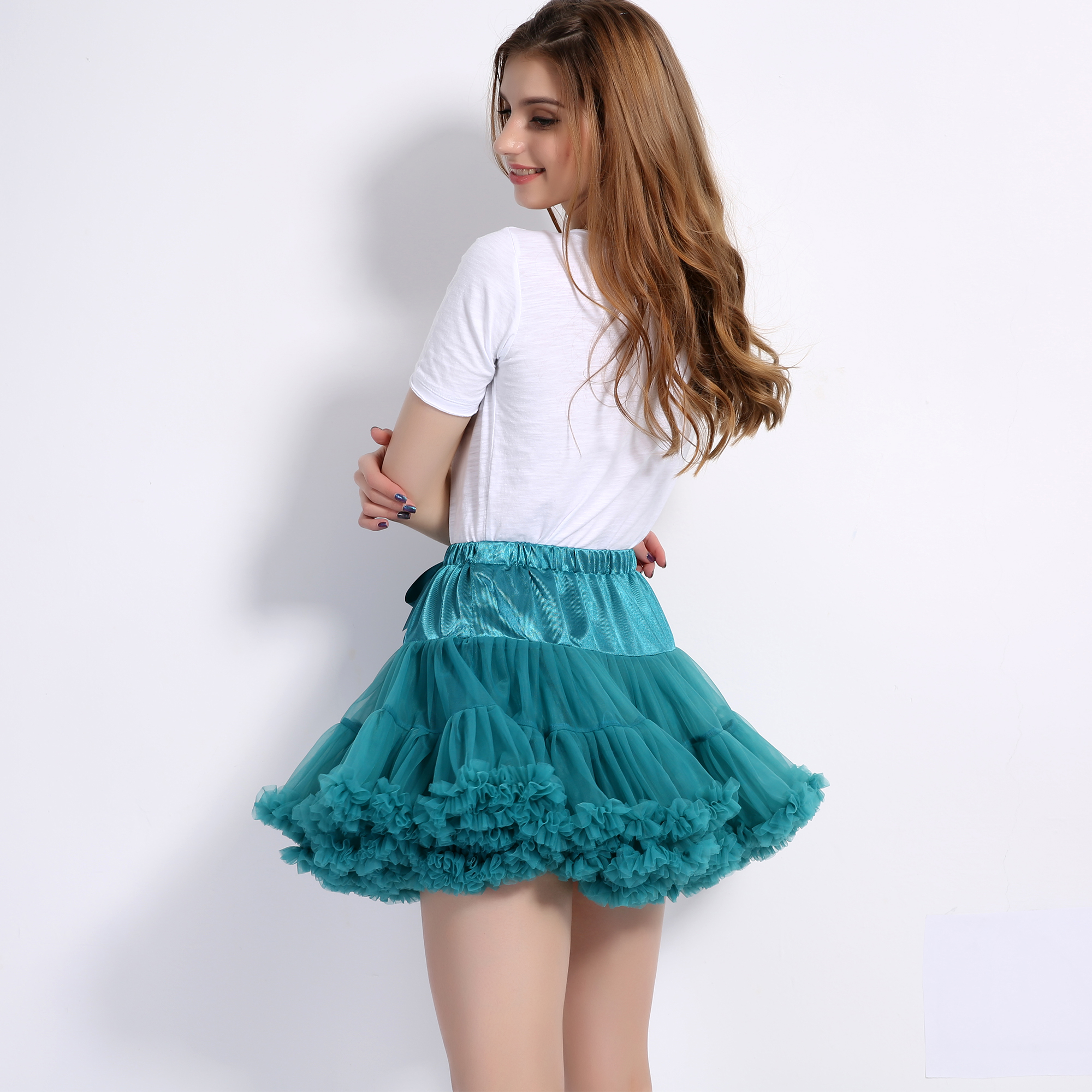Mama Mother And Daughter Kid Matching Clothes Dance Tutu Skirt