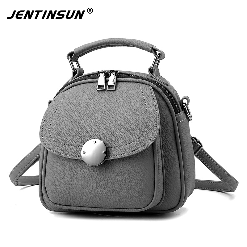 Fashion Women Backpacks Women's PU Leather Backpacks Female School Shoulder Bags Teenage Girls College Student Casual Small Bag jooz brand new fashion women backpacks pu leather female casual bag girls floarl appliques sweet style mini school bags