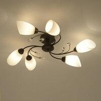 LED Lights For Home Ceiling Iluminacion Techo Vintage Surface Mounted Led Ceiling Light Iluminacion Techo Luminaria