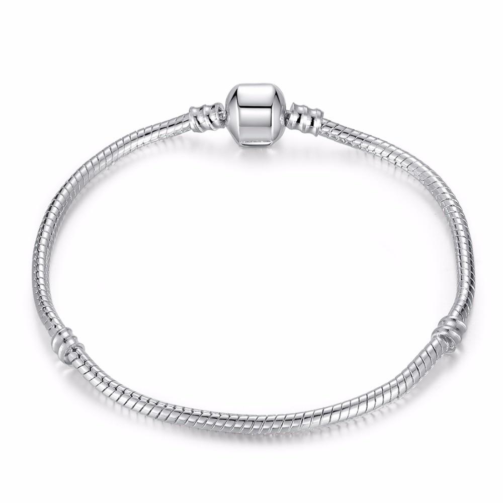 BISAER висококачествен едро сребърен - Модни бижута - Снимка 3