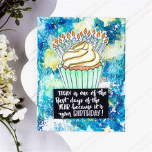 Eastshape Cup Cake Metal Cutting Dies for DIY Scrapbooking Card Making Photo Album Embossing Die Cut Crafts Stencil New 2019