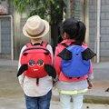 2017 nuevo 3d dinosaurio de dibujos animados demonio angel baby toddler anti perdido Arnés Correa Walker Bebé Lonchera Bolsa Schoolbag mochila