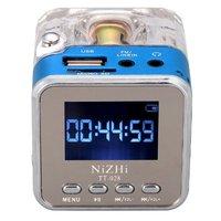 NIZHI TT 028 Digital FM Radio Mini Speakers Music Portable FM Radio SD TF USB Disk