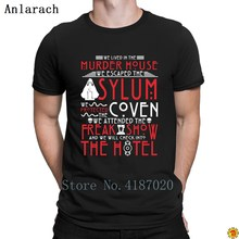 American Horror Story We Lived In Murder House Tshirt Cute 2018 Better T Shirt For Men Fitness Clothing Personalized Trend