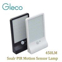 450LM 36LEDs Solar Power Sensor Lamp 3 Mode PIR Motion Sensor Light Garden Security Lamp Outdoor