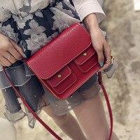 Famous Women S Leather Shoulder Bags Small Messenger Bags Simple Designer Crossbody Bags Clutch Handbag Bolso