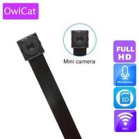 OwlCat WIFI 1080p HD Mini Camera DVR DIY Module IP Cam Motion Camera P2P Audio HD Digital Video Recorder Security Camcorder
