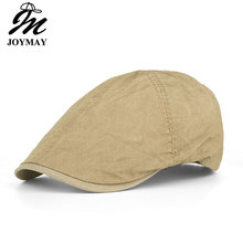 1fe3b5a70a5 JOYMAY 2018 Spring Berets Unisex Casual Solid color Octagonal Peaked Cap  Visors
