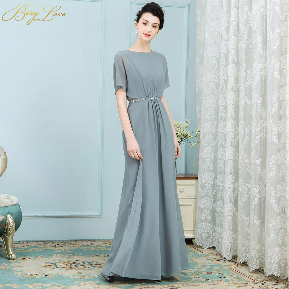 Unusual Mother Of The Bride Dresses: BeryLove Unique Mother Of The Bride Dresses Short Sleeves