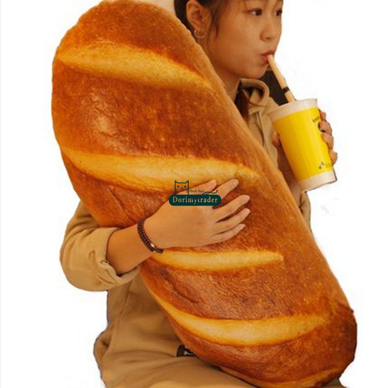 Dorimytrader 80cm Large Soft Simulated Bread Plush Pillow 31