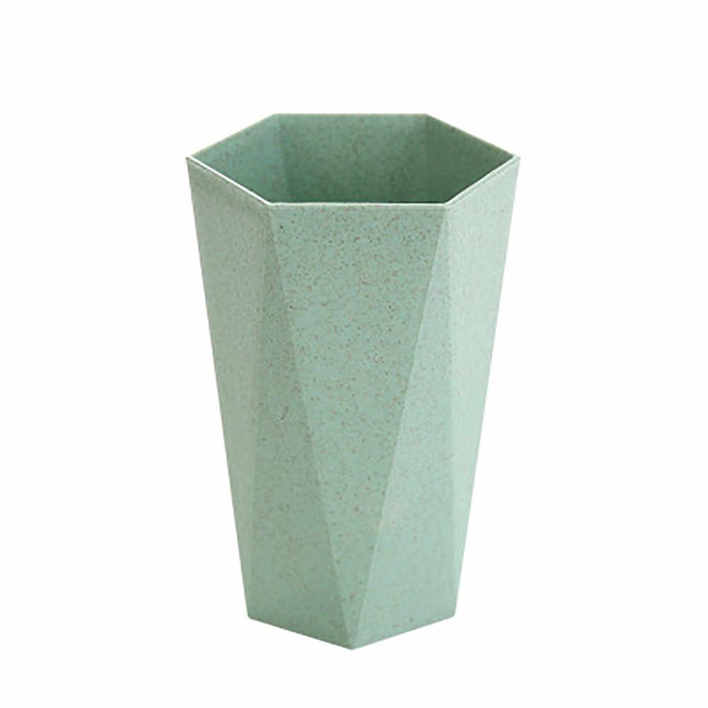 Стаканчики для полоскания рта, геометрические стаканчики для зубных щеток, зубная чашка для зубных щеток, зубная чашка для скандинавского ветра, водная чашка, соломенная зубная щетка с геометрическим рисунком, 326 Вт
