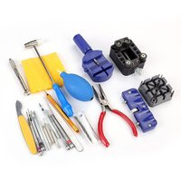 23 Piece Yd046 Watch Strap Disassembly Tool Set Kit Watch Case Battery Opener Link Pins Remover Screwdrivers For Watchmaker