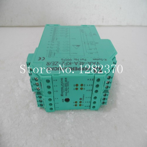 [SA] Original authentic special sales P + F safety relays VAA-4EA-KF2-ZE / R Spot [sa] new original authentic special sales p f sensor nbb5 18gm50 e2 c3 v1 spot 2pcs lot