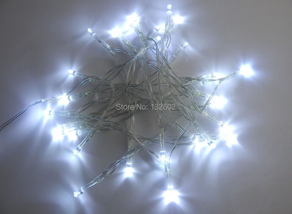 20 pcs/lot 3M 30 Leds Battery Led String Light 3pcs AA Battery Operated Fairy Party Christmas Wedding Flashing LED strip