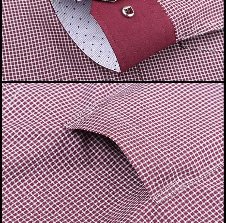 Pauljones 57xx дешевый воротник дизайн с длинными рукавами для мужчин s полосатые рубашки Повседневное платье Мужская рубашка в клетку Высококачественная Мужская одежда