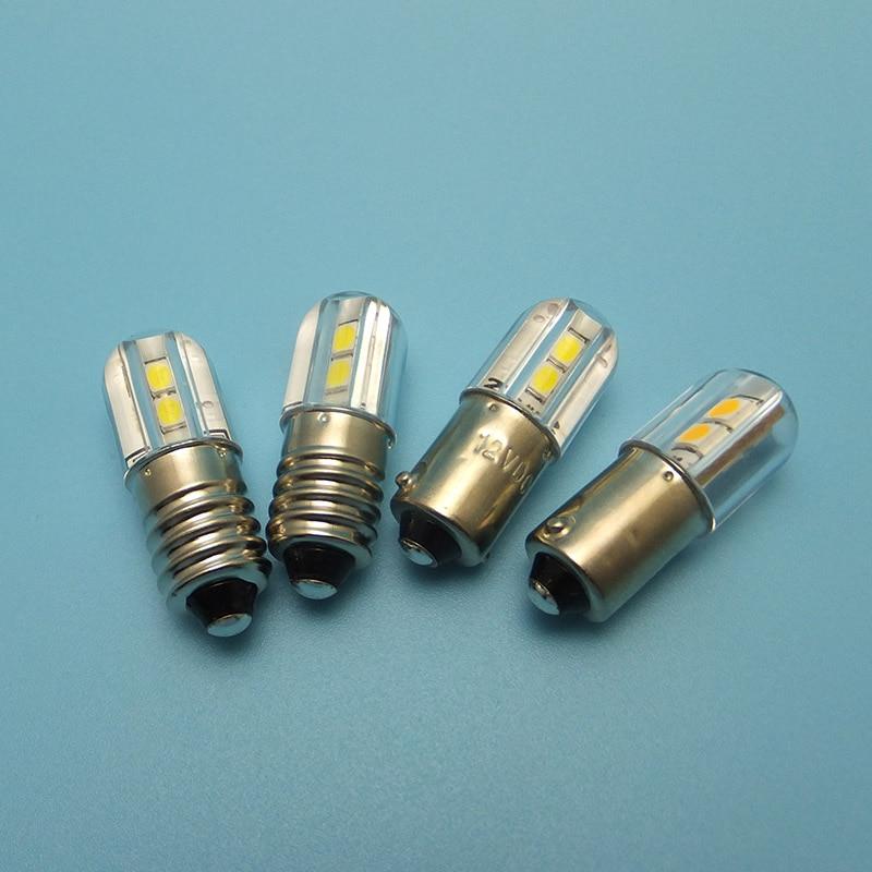 Image 3 - MIDCARS 6V t4w ba9s e10 LED LIndicator light 36V Bulb,H21W BAY9S 12V SMD LEDs/ 48V 24V to 60V Bulb wholesale-in LED Bulbs & Tubes from Lights & Lighting
