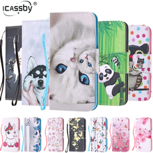 Etui For Samsung Galaxy A8 2018 SM-A830F Case Flip Wallet Phone Case For Coque Samsung Galaxy A8 2018 SM-A530F SM-A530X Cover защитная плёнка для samsung galaxy a8 2018 sm a530f на весь экран tpu прозрачная luxcase