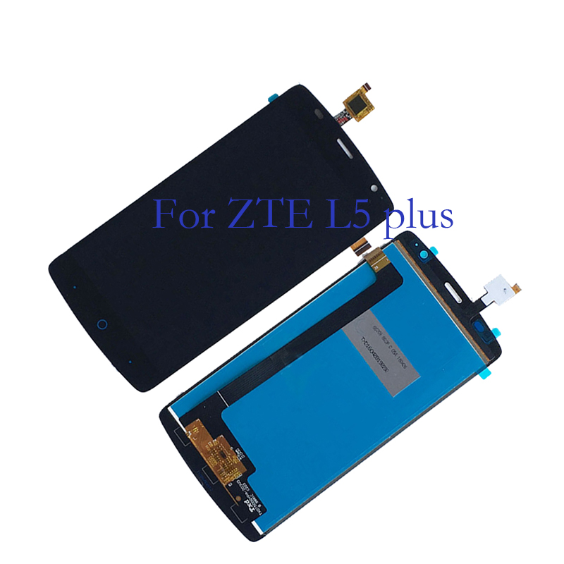 for ZTE Blade L5 Plus LCD + touch screen digitizer components 100% tested to replace ZTE Blade L5 plus display components+tools-in Mobile Phone LCD Screens from Cellphones & Telecommunications