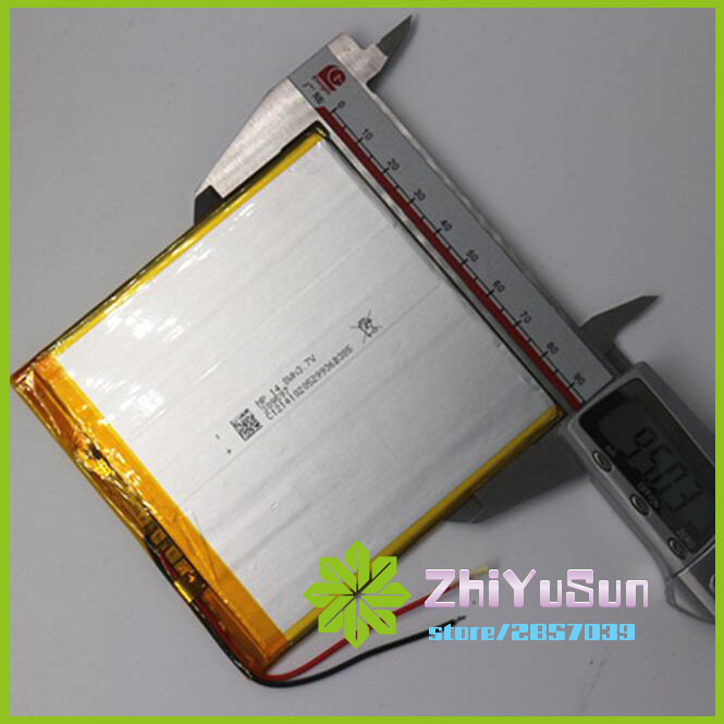 ZhiYuSun quality assurace 309597 3.7 V lithium polymer battery <font><b>4000</b></font> <font><b>mah</b></font> DIY Thickness 3mm width 95mm length 97mm battery image