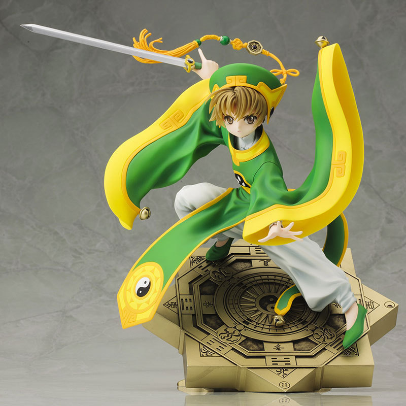 Huong Anime 20 CM Cardcaptor Sakura Li Syaoran 1/7 Scale PVC Painted Action Figure Collectible Model Toy anime cardcaptor sakura kinomoto sakura 1 7 scale pre painted pvc action figures collectible model kids toys doll 26cm acaf087