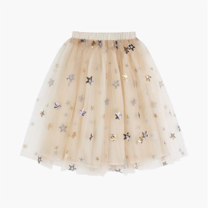 2018 filles STAR SHINNING jupes TUTU jupes filles vêtements VESTIDOS VETEMENT enfants robes fête prix mère & fille DRES