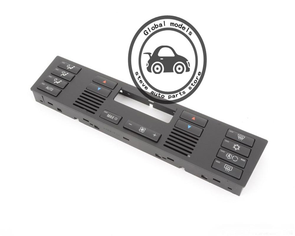 Climate Control Aircon Button Switch Set With PANEL HVAC Climate Control Caps for BMW X5 E53 X5 E70 X1 E84 X4 F26 X3 E83 X6 E71