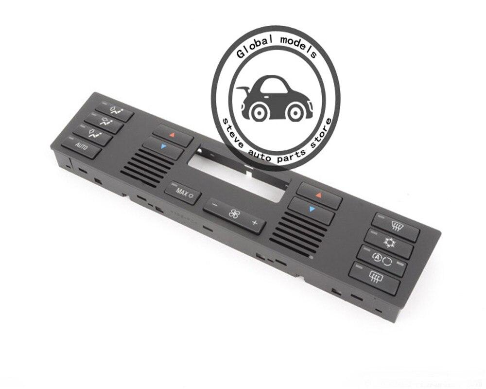 Interruptor de Botão de Ar Condicionado Climate Control Set Com PAINEL de Controle do Clima HVAC Caps para BMW X5 E53 F26 X4 X1 E84 X3 E83 X5 E70 X6 E71