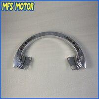 Freeshipping Motorcycle Grab Bar Rail For Suzuki GSXR 1300 GSX R 1300 Hayabusa 1999 2007 Chrome