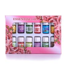 12 bottles SPA Essential Oils with aromatic aromatherapy oil household daily supplies cured flavor Home Air