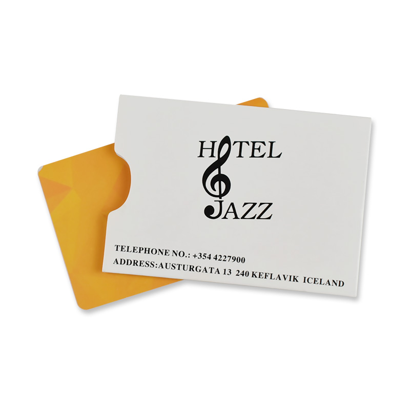 Zuoluo Hotel Room Key Card Holder Card Sleeve