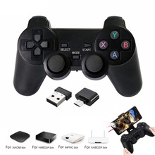 2019 New 2.4G Wireless Gamepad For Android Phone/PC/PS3/TV Box Joystick Game Controller For Xiaomi Smart TV for PS3 games стоимость