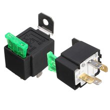 2x DC 12V ON OFF 4 Pin Relay 30 Amp Fuse Base Box Holder Bracket Fog_220x220 30 amp relay reviews online shopping 30 amp relay reviews on  at reclaimingppi.co