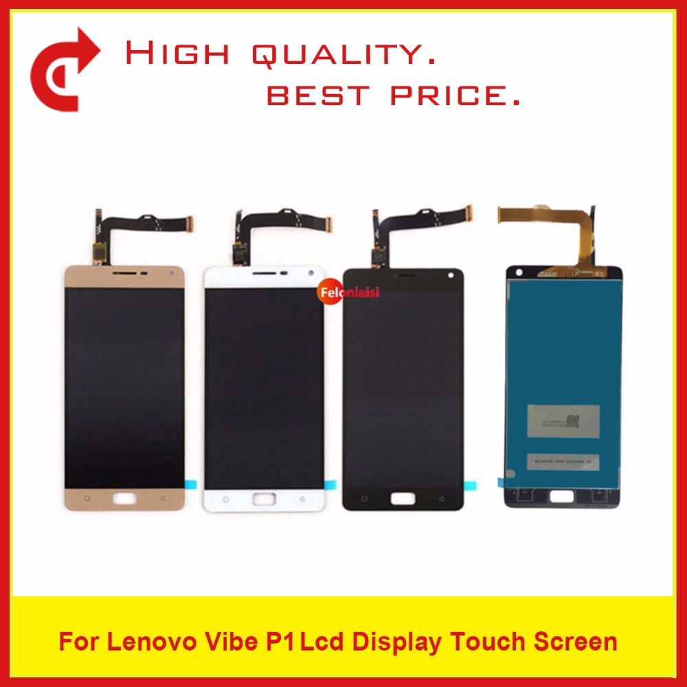 5.5 For Lenovo Vibe P1 LCD Display With Touch Screen Digitizer Sensor Panel Assembly P1 LCD Complete Replacement5.5 For Lenovo Vibe P1 LCD Display With Touch Screen Digitizer Sensor Panel Assembly P1 LCD Complete Replacement