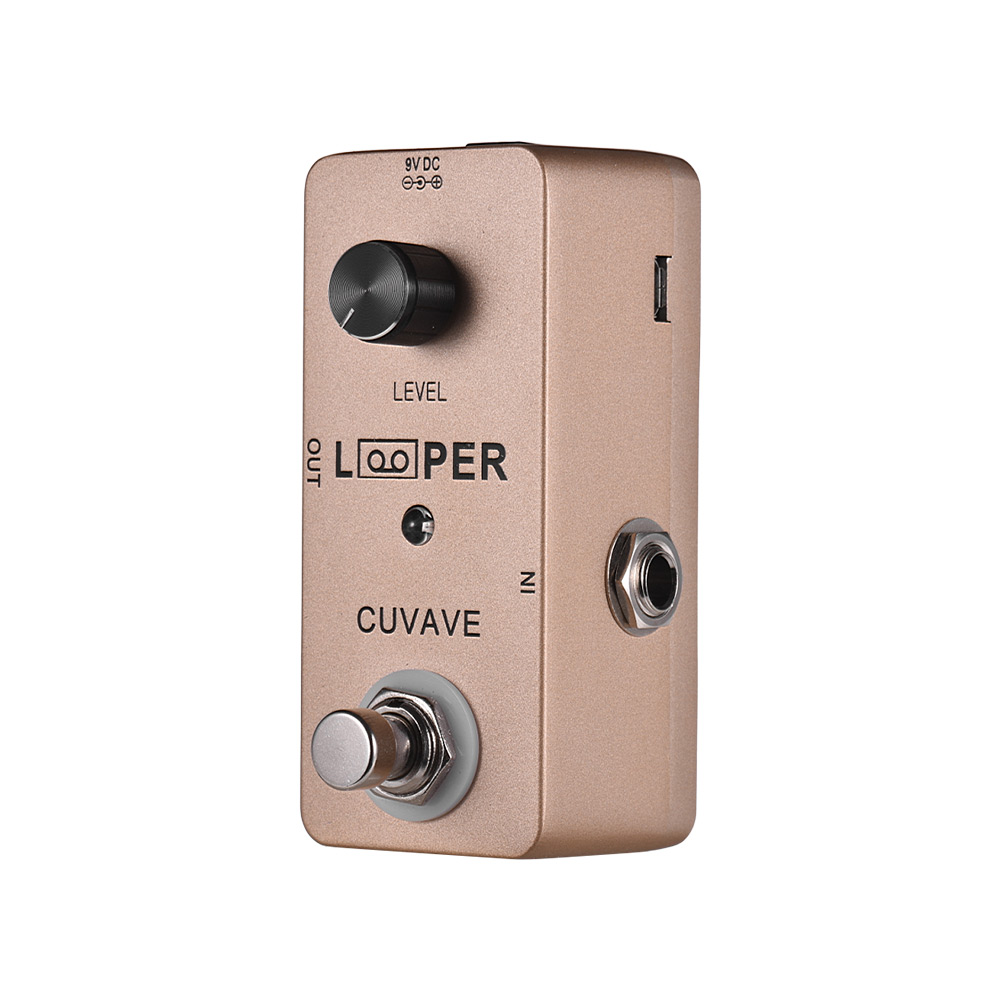 Mini Guitar Loop Looper Pedal Max 5 Minutes Recording Time Unlimited Overdubs Full Metal Shell Guitar