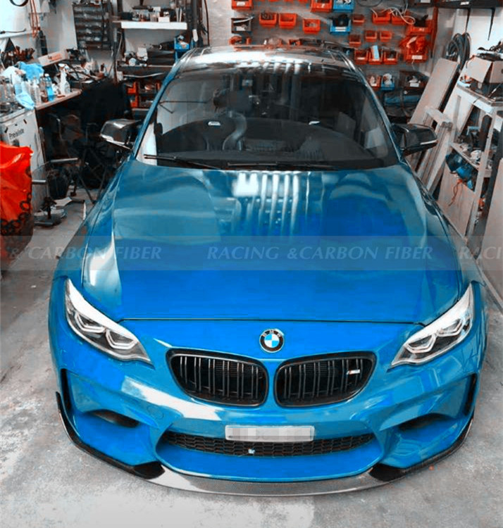 In Stock// F87 M2 CS/Competition Style Carbon Fiber Front