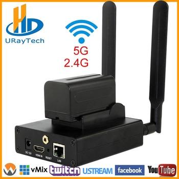 HEVC /H 265 H 264 /AVC WiFi HDMI Video Encoder Tramsimitter IPTV Streamer  Support RTMP RTSP UDP HTTP